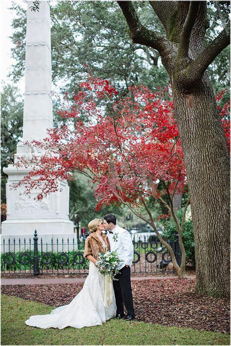 Morgan & John   Winter White Savannah Wedding   Whitefield