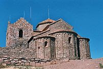 Romanesque monastery at the top of la Mola (11...