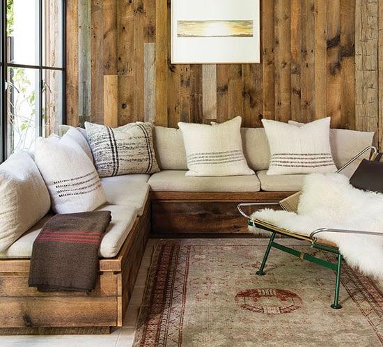 Rustic Modern Sofa Designs | MountainModernLife.com