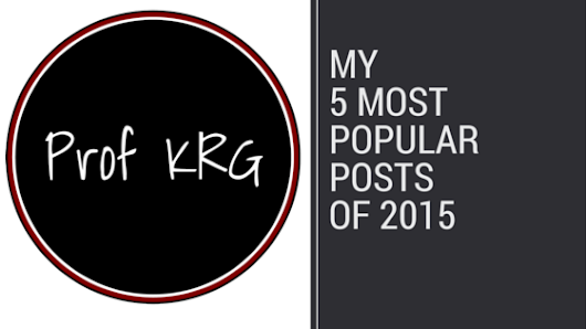 My 5 Most Popular Posts of 2015