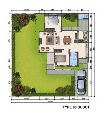 85 Desain Taman Depan Rumah Type 36 Gratis Terbaru