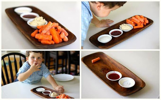 how to get kids eating more carrots