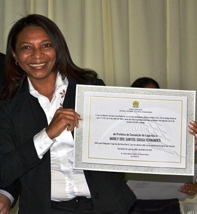 Prefeita Marly dos Santos Sousa