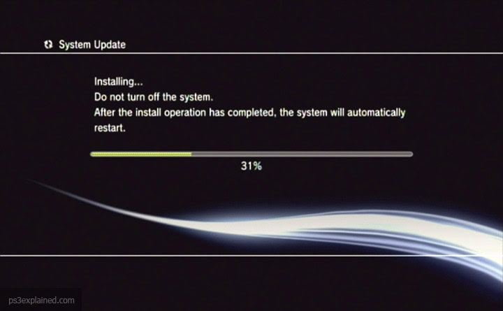 PS3 OFW System Software Update 4.75