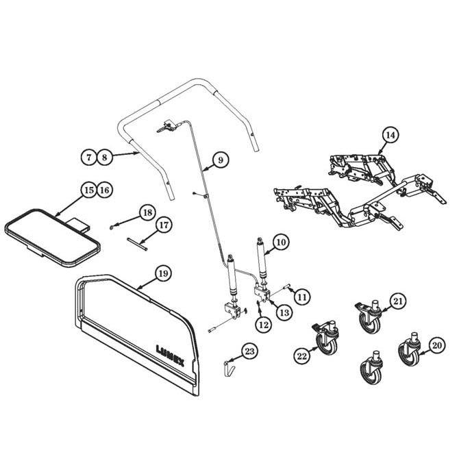 Ashley Recliner Parts Diagram