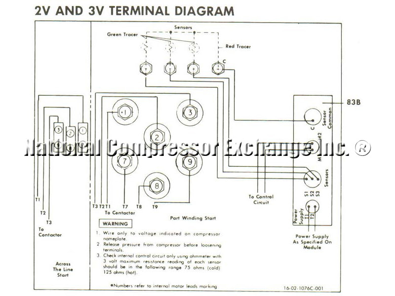 Wiring Diagram Hermetic Compressor