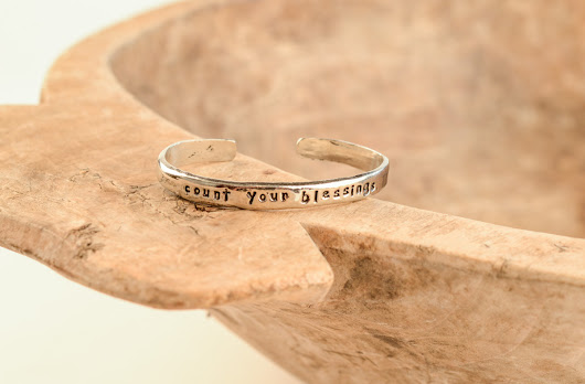 Count Your Blessings Cuff Bangle - The City Farm