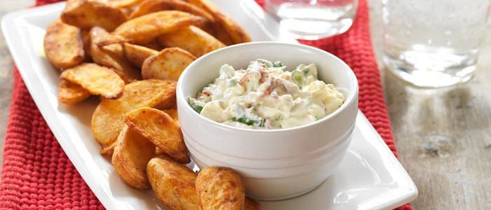 Sundried Tomato & Feta Dip with Chilli & Lime Wedges