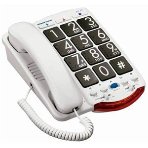 Clarity Jv35 Amplified Big Button Phone Amplified Corded Phones