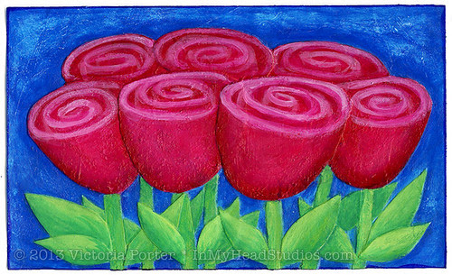 """""""Roses"""" ICAD : 6-26-13"""