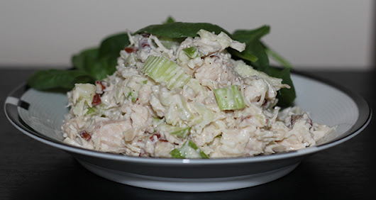 Clean Eating Pecan Chicken Salad - Clean Eating Recipes