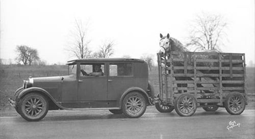 13 Fascinating Facts About Horse Trailer History