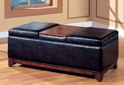 Cheap Ottomans And Footstools Rating Amp Review Black Vinyl