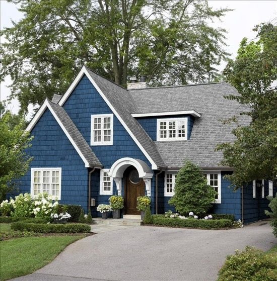 "Benjamin Moore 805 ""New York State of Mind""  Lisa Mende Design: Best Navy Blue Paint Colors"