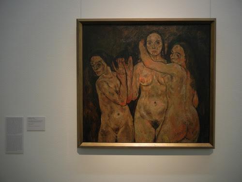 DSCN0917 _ Drei stehende Frauen (Fragment), 1918, Egon Schiele, Leopold Museum