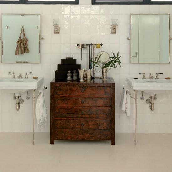 Chic polished flooring | Bathroom flooring ideas ...