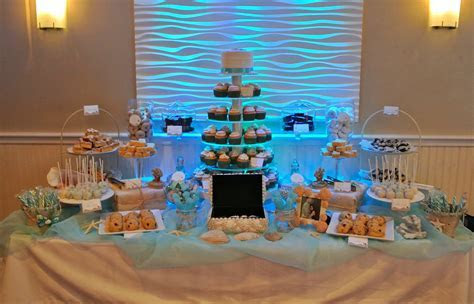 Beach theme Dessert table   Dessert Tables Ideas in 2019