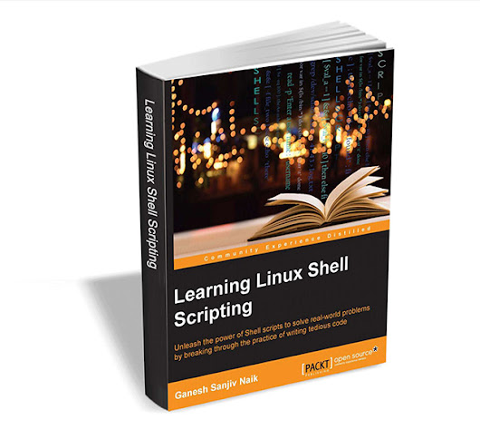 Get 'Learning Linux Shell Scripting' ebook ($36 Value) FREE for a limited time