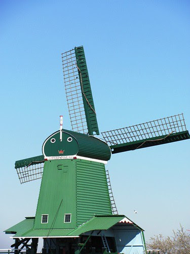 Windmill with a face