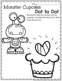 February Preschool Worksheets Planning Playtime