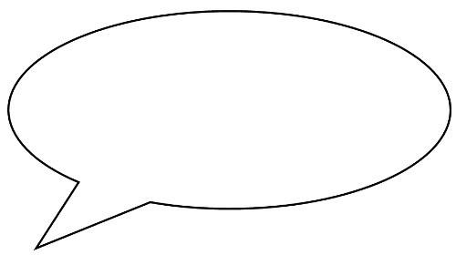 Speech Bubble Outline | Free Download Clip Art | Free Clip Art ...