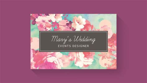 25  Wedding Planner Business Card Templates Download