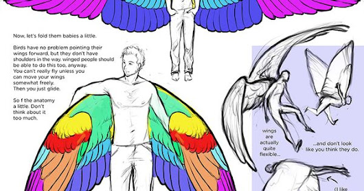Thoughts on Wings by Uzlo on deviantART