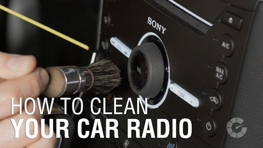 How to clean your car radio | Autoblog Details - Autoblog