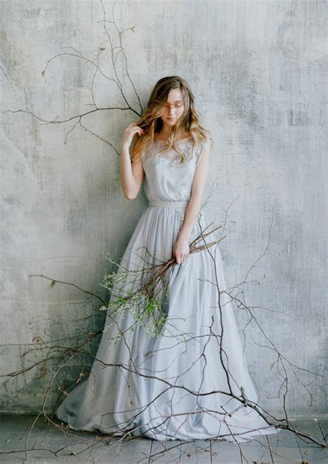 15 Breathtaking Blue Wedding Dresses from Etsy
