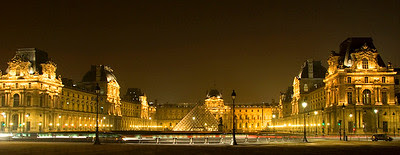 The Louvre at Night, Paris
