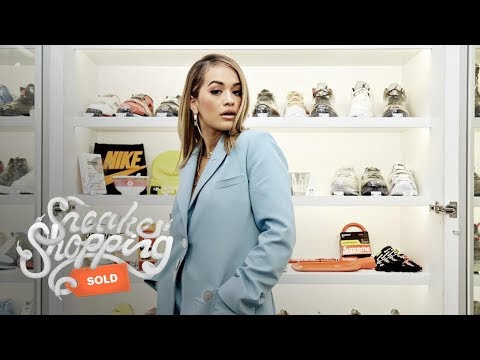 SneakerHead Ladies: Rita Ora Goes Shopping w/ Complex Joe La Puma At New York's Stadium Goods