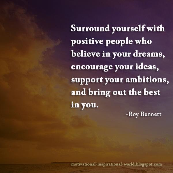 Team At Inspiringthinkn Surround Yourself With Positive People Who