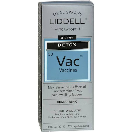 Liddell Homeopathic - Detox-Vaccines 1 oz