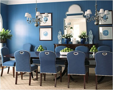 navy-blue-dining-room | Flickr - Photo Sharing!