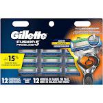 Gillette Fusion 5 Proglide Men's Razor Refills - 12 count