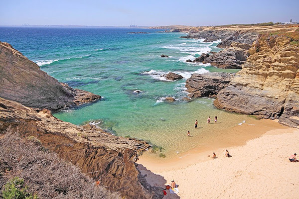 As mais belas praias de Portugal - Praia de Porto Covo, Sines