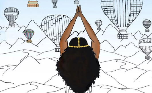 New Coloring Book Celebrates The Beauty of Black Travel - Travel Noire