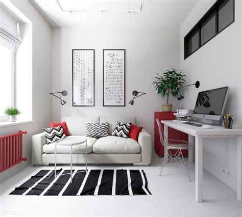 small apartments  rock uncommon color schemes
