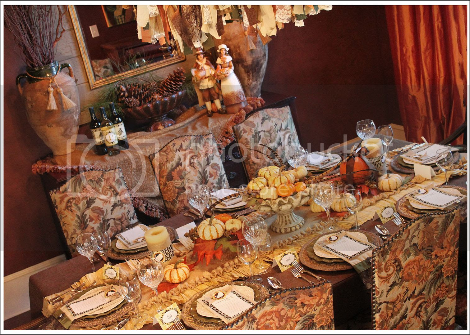 Amandas Parties To Go Thanksgiving Dinner Tablescape