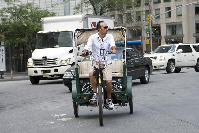 Pedicab, Columbus Circle