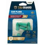 TruGuard Tru00335 Foam Ear Plugs, NRR 31 DB, 4-Pairs