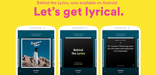 Spotify adds lyrics explanations on Android