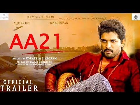 #AA21-Official Concept Trailer | Allu Arjun, Kortala Shiva | A Big-Budget Movie |