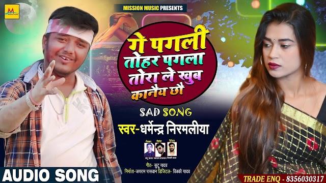 Ge Pagali Tohar Pagala Tora Le Khub Kaanai Chhau - Dharmendra Nirmaliya Lyrics