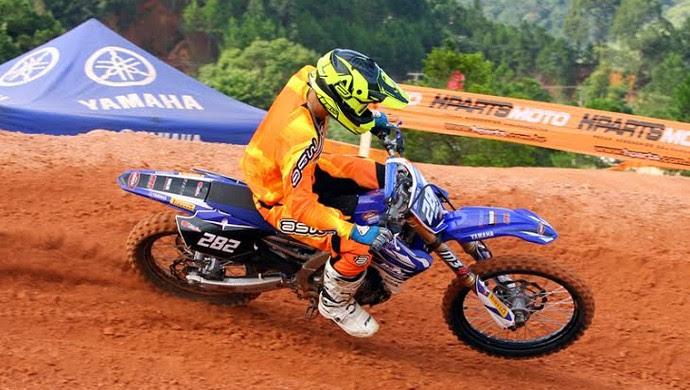 joão pedro motocross são josé  (Foto: RaceCross/Divulgação)