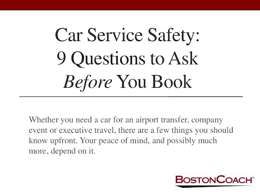 Car Service Safety: 9 Questions to Ask Before You Book