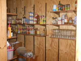 New Kitchen Pantry Shelves