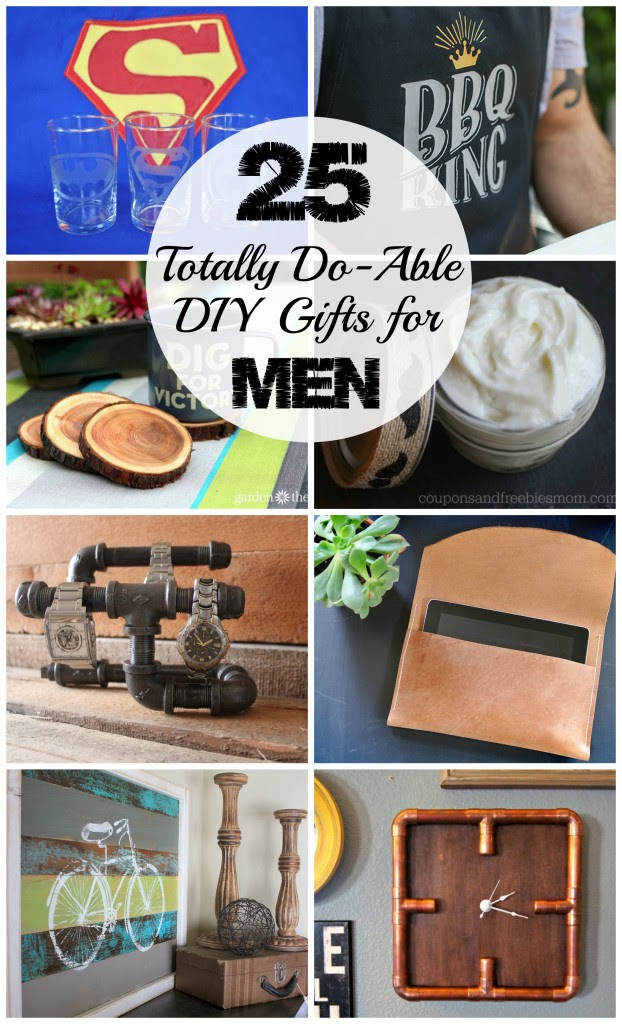 25 Totally Do-Able DIY Gifts for Men - Love Create Celebrate - HMLP 66 Feature