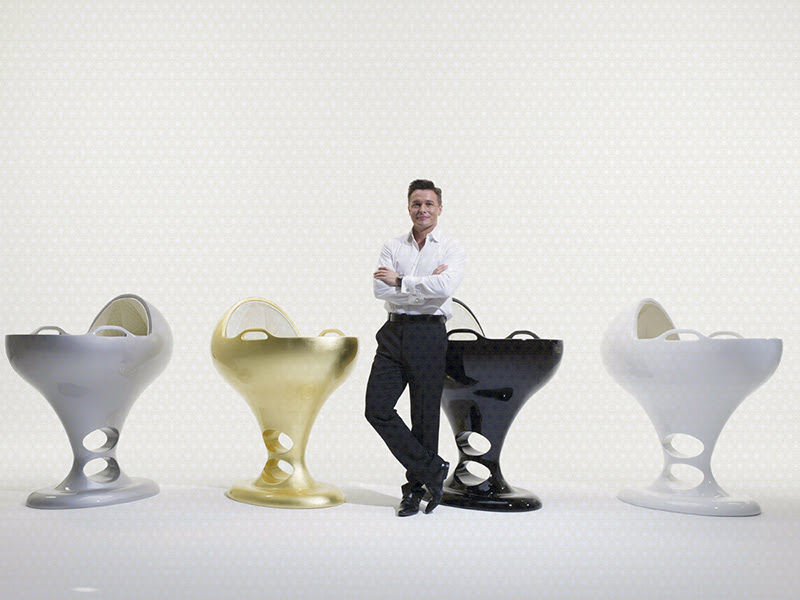 Dodo bassinets with designer IIHIH