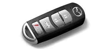 Mazda keyless remote